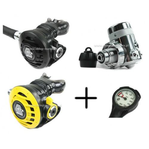 Apeks ATX 40 / DS4 DIN + Octopus ATX 40 + manometr