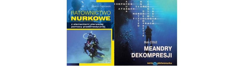 Książki Nurkowe