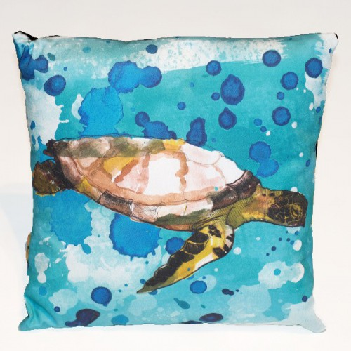 Poduszka żółw hand made autorski wzór