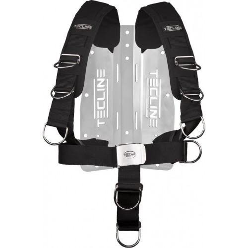 Tecline Uprząż Comfort (regulowana) z płytą nierdzewną 3mm