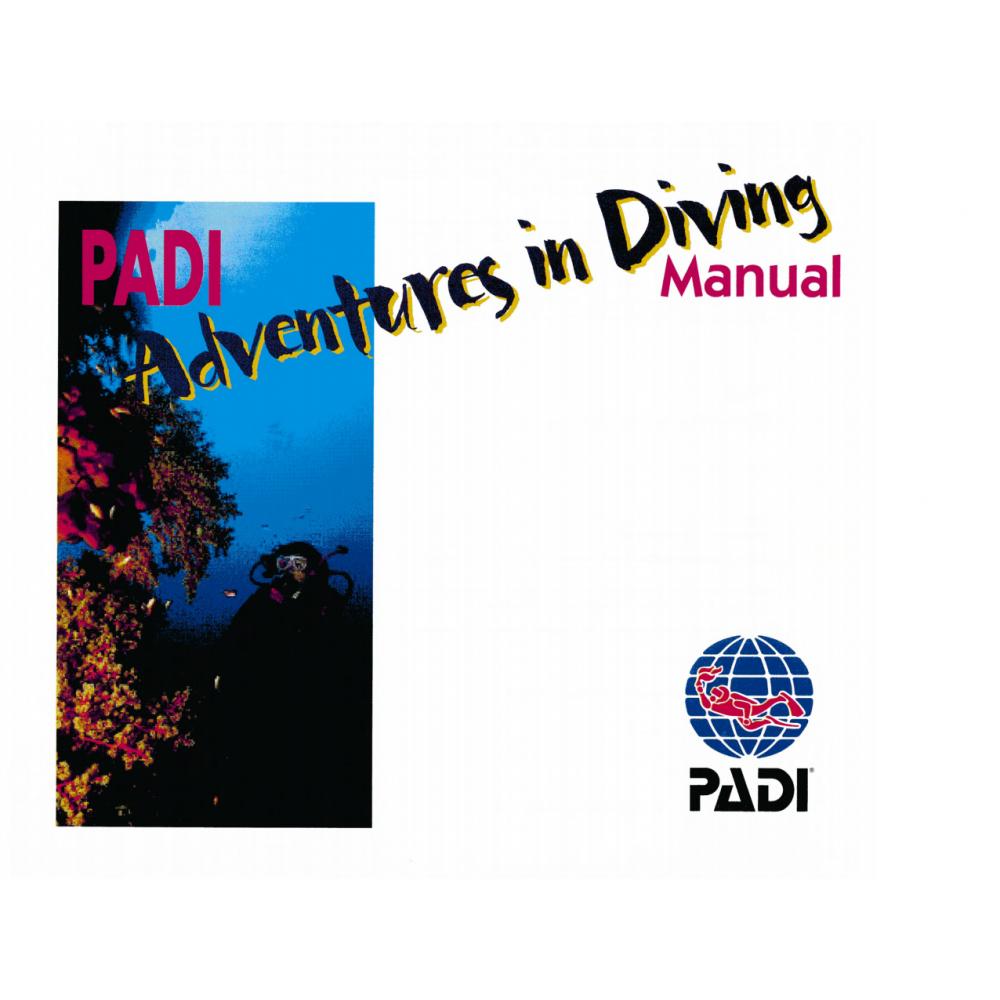 PADI Podręcznik AOWD Manual (Adventures In Diving)