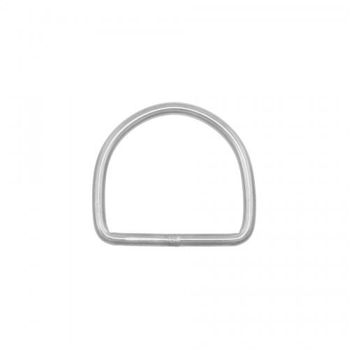 D-ring nierdzewny szeroki 50 średnica 5mm