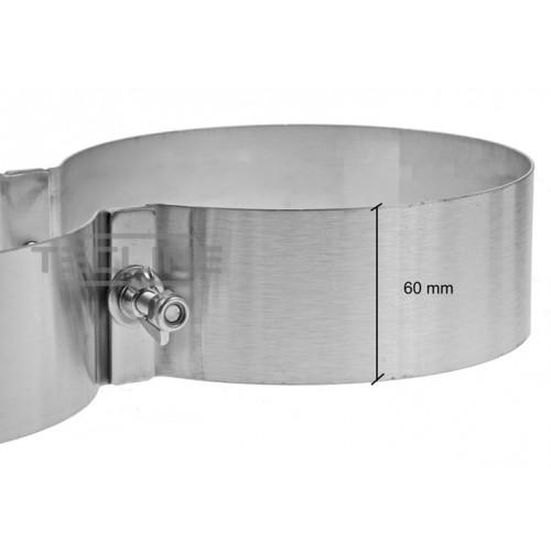 TecLine Obejmy na butle 203 mm, szerokość 60mm sztuka