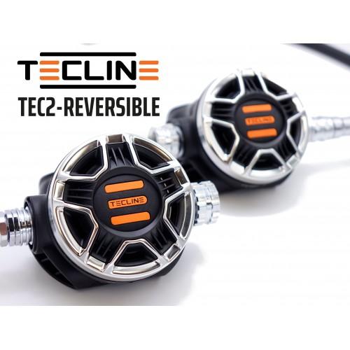 TecLine II-gi stopień Tec2 czarny odwracalny - en250a