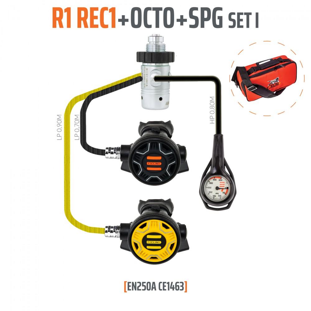 Tecline Automat R1 REC1 - zestaw i z oktopusem i manometrem