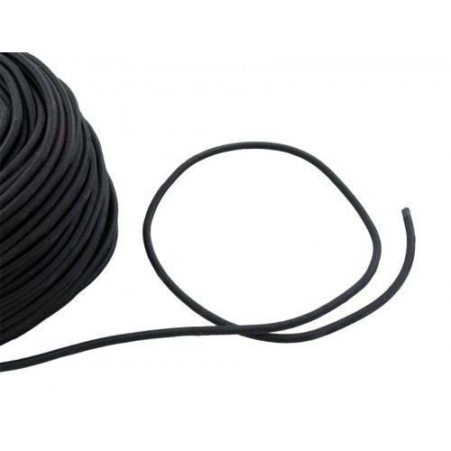 Linka gumowa 6 mm czarna