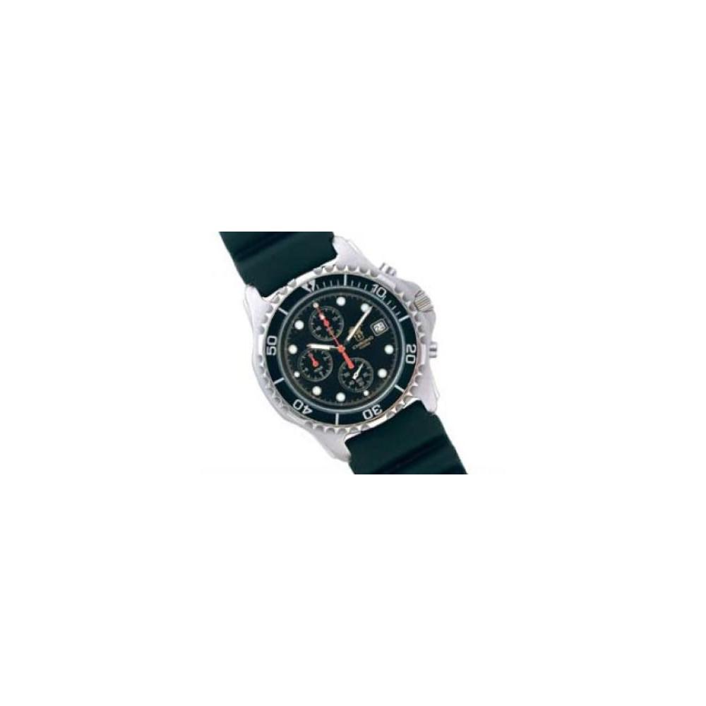 Poseidon Chronograph Black