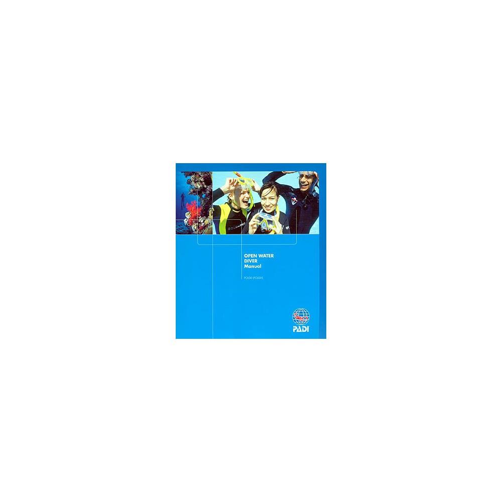 Podstawowy kurs nurkowania ksiażka certyfikat OWD PADI