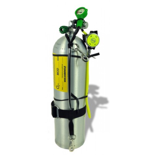 Stage 11.1L, automat R1 PRO O2, manometr tlen uprząż 100% O2