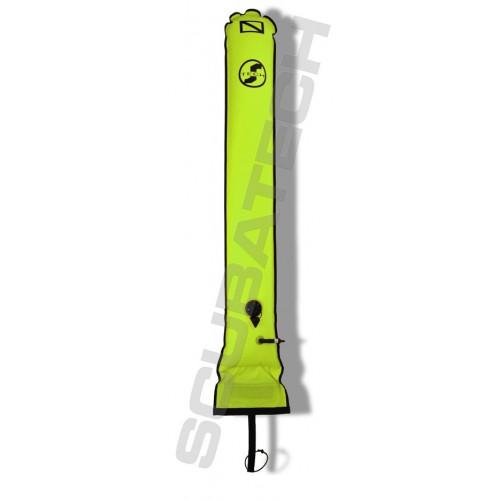 Scubatech Boja deco 25/150 cm zawór i kaczy dziób żółta