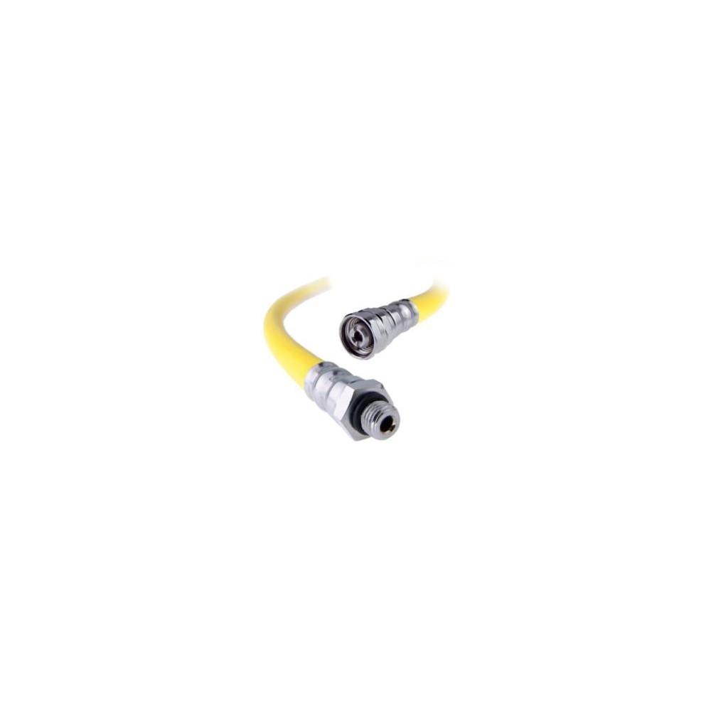 Wąż LP gumowy żółty wzmocnienie standard