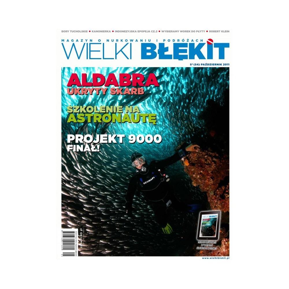 Magazyn Wielki Błękit nr 54 Październik 2011r