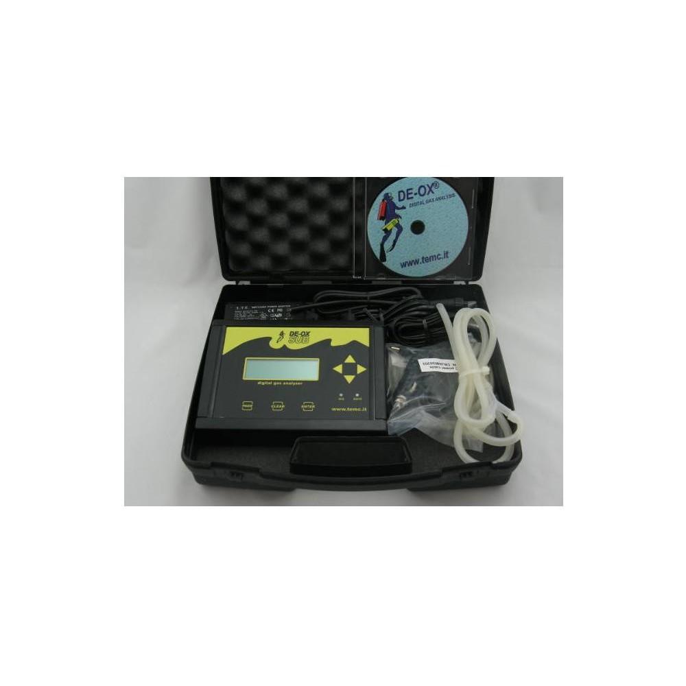 DE-OX SUB Analizator helowo - tlenowy
