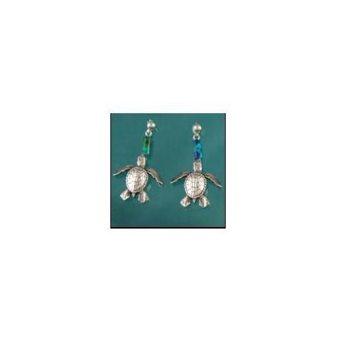 Kolczyki Żółwie - Big Blue