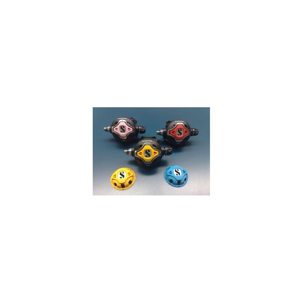 Scubapro Kolorowe pokrywki do S600/S555