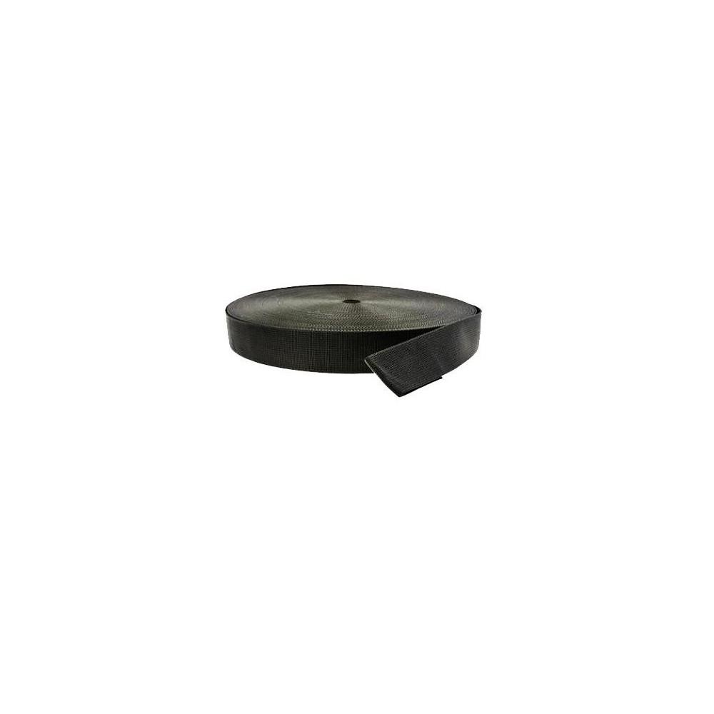Taśma 50mm do pasa balastowego 1mb - czarna