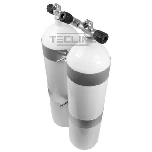 Zestaw 2 x 12L 171 mm 232 bar concave  Eurocylinder
