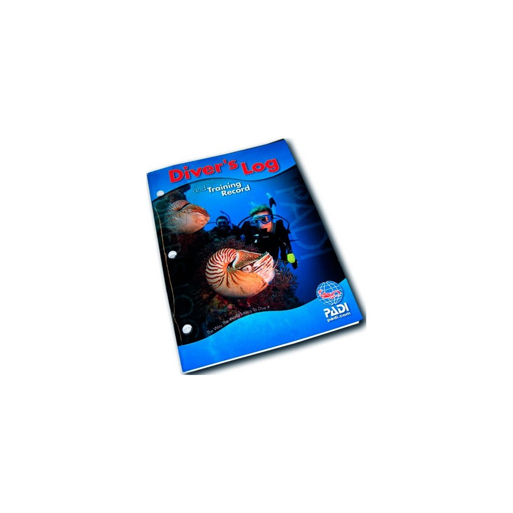 Padi LogBook Niebieski