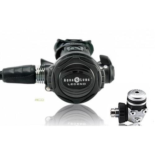 Aqualung Legend Supreme Black ACD DIN