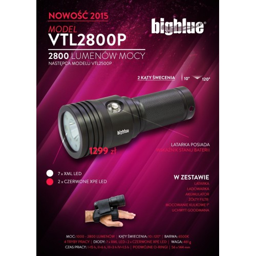 Big Blue VTL2800P