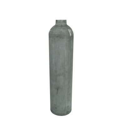 Butla aluminiowa 7 L 200 bar, Polaris niemalowana - płaszcz