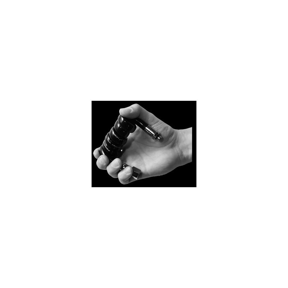 Wąż LP czarny Super-Flex, elastyczny