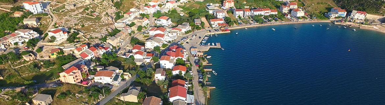 Apartamenty wyspa Pag Chorwacja
