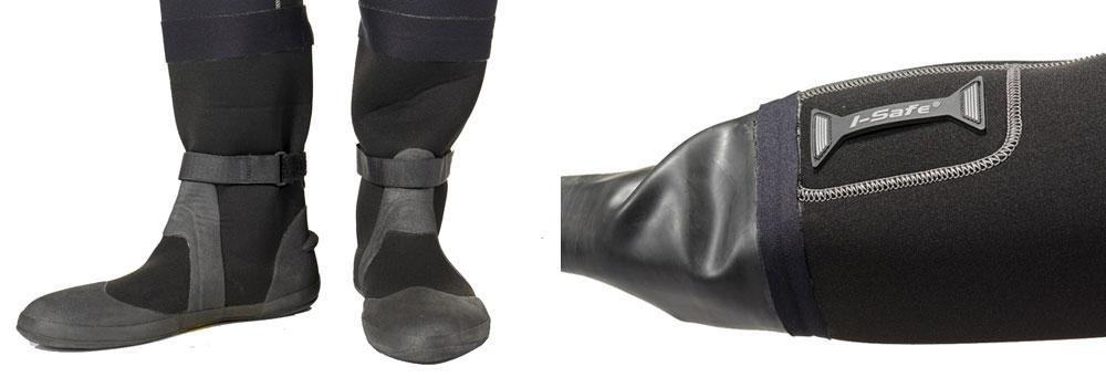 Scubapro EXODRY - zintegrowane buty