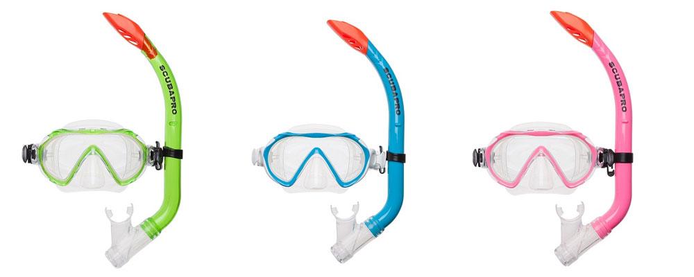 Zestaw do snorkelingu dla dzieci - Scubapro SPIDER COMBO