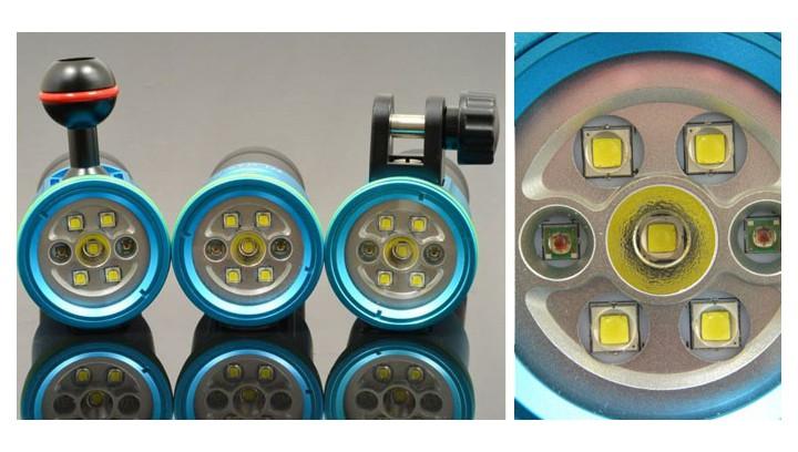 HI-MAX V11 – mała latarka nurkowa z 3 funkcjami świecenia